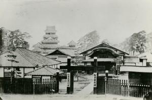 明治年間 松本裁判所(二の丸御殿跡)