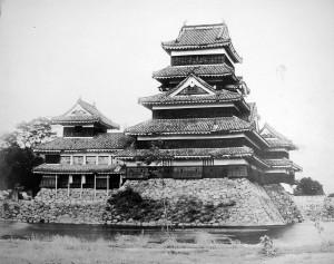 昭和25年 昭和の修理前天守