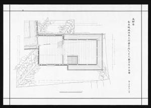 松本城竣功辰巳附櫓一階及び月見櫓一階平面図