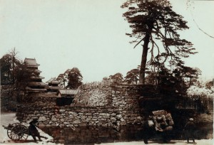 The Monzeki(temples for Buddhist priests) in 1897