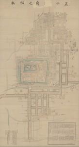 「維新前松本藩士族屋敷割図」(松本市立博物館所蔵)