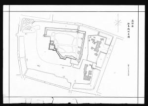 松本城配置図