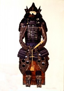 This is believed to be the armor that the 5th lord of the Matsumoto Castle, Yasunaga Toda, had used.