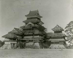 The repairmen in the Meiji era
