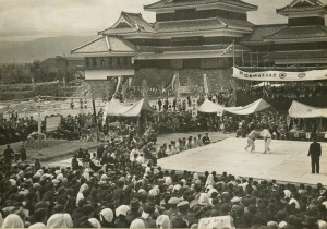 1955 The completion  ceremony for the reconstruction in the Showa era